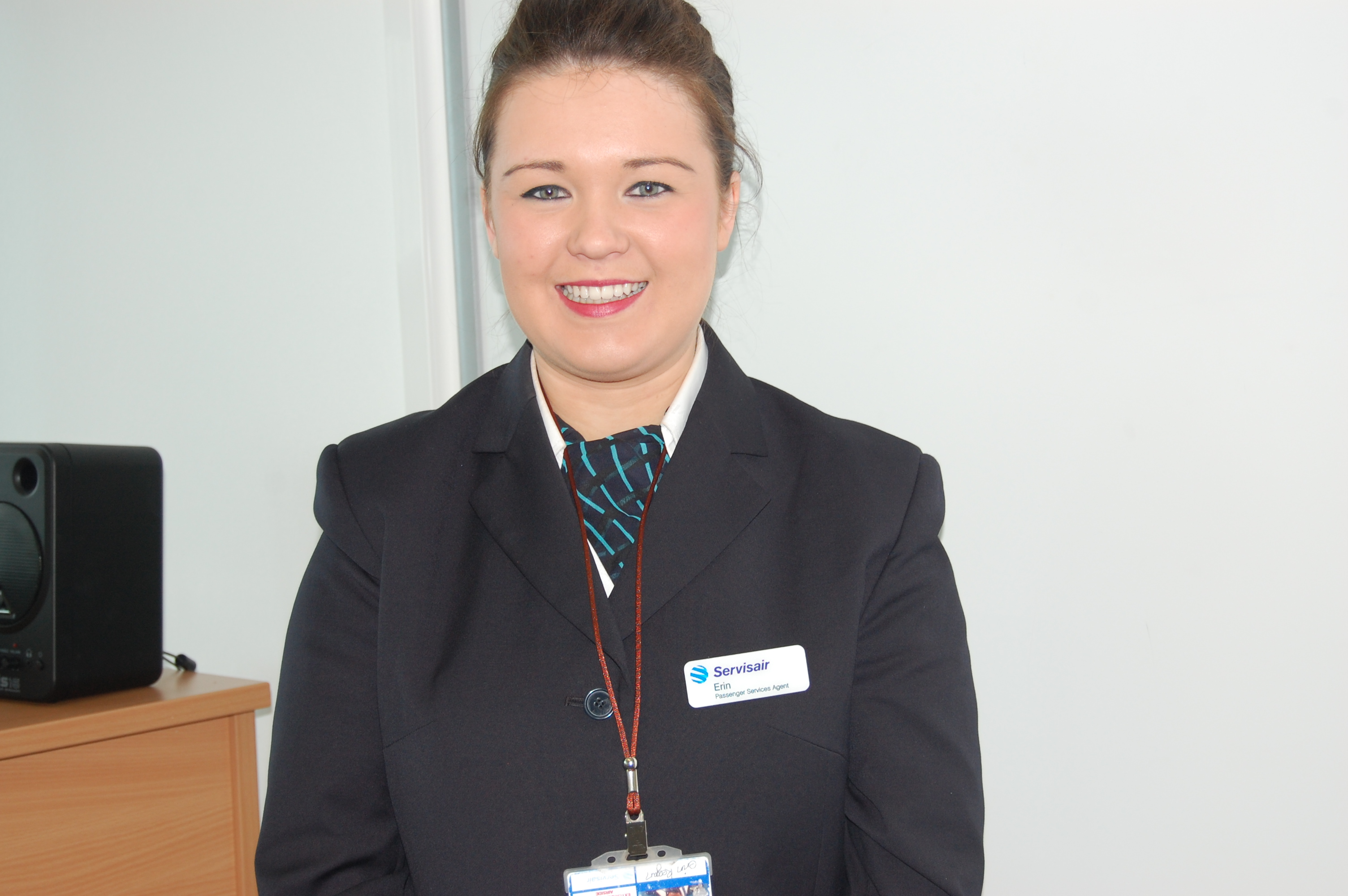 Erin Keegan-Passenger Service Agent with a major ground handling company at Glasgow Airport