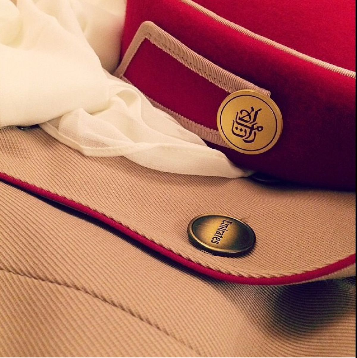 Emirates Flight Attendant Uniform