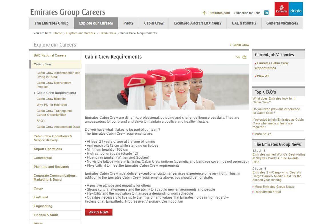 Cabin crew jobs is your cv good enough cabin crew jobs yelopaper Images