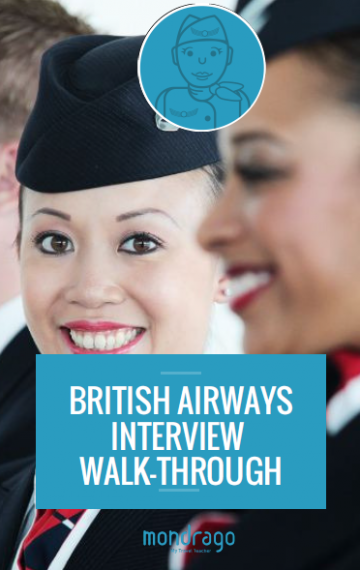 British Airways Cabin Crew Interview Walk-Through
