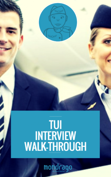 TUI Cabin Crew Interview Walk-Through