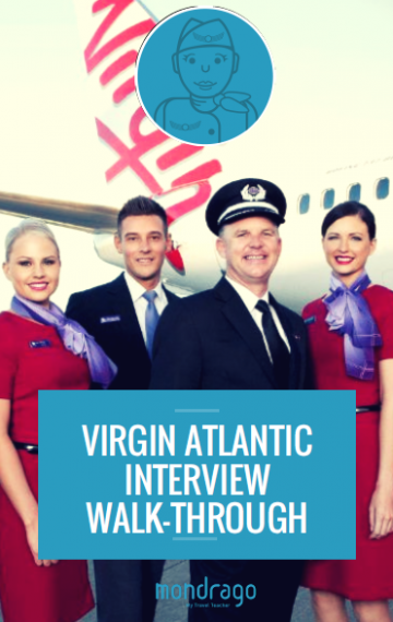 Virgin Atlantic Cabin Crew Interview Walk-Through