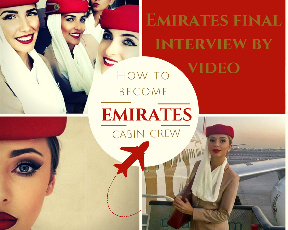 Emirates final interview by video guide - Mondrago My Travel
