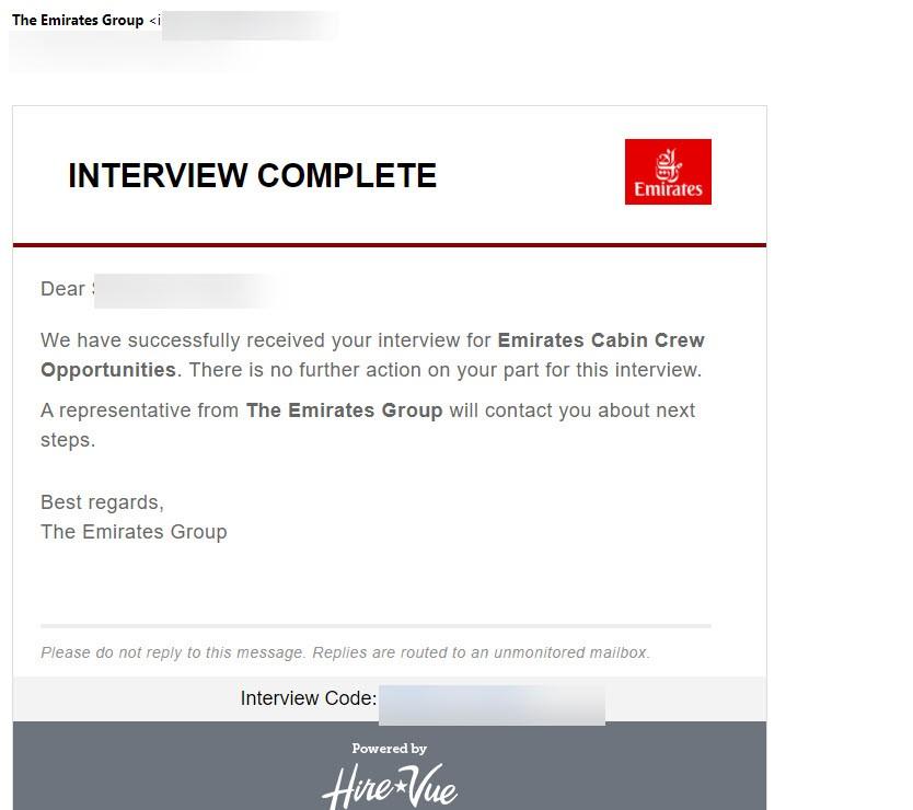 Emirates Cabin Crew Recruitment FAQs